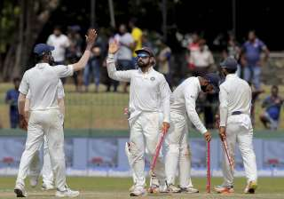 India vs Sri Lanka 2017, Live Score