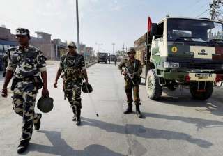 Not entered Dera headquarters: Army, Haryana...