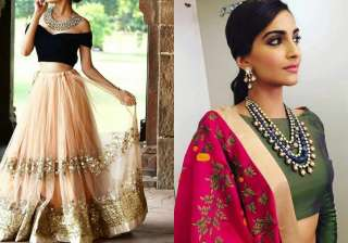 Indian dresses altered with western fashion bring...