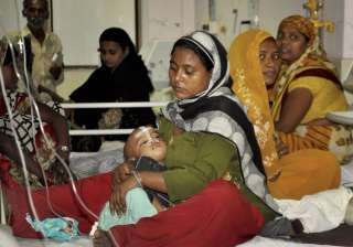 Gorakhpur: An inside view of a ward of BRD...