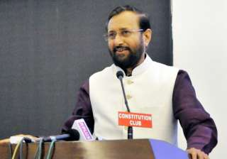 File pic of Prakash Javadekar - India TV