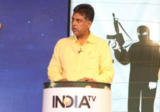Manish Tewati at Vande Mataram conclave - India...