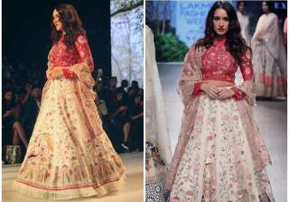 lakme fashion week 2017 shraddha kapoor india tv