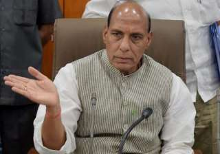 Home Minister Rajnath Singh - India TV