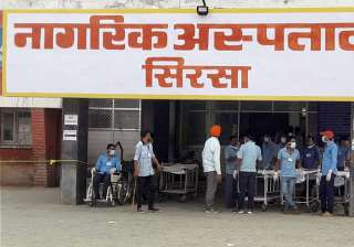 File pic - A view of civil hospital in Sirsa -...