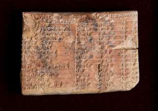 mathematical clay tablet, india tv, babylonians