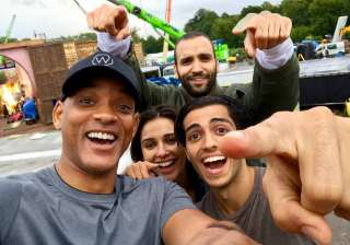 Aladdin: Will Smith shares first look of...