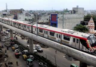 The Lucknow Metro was opened to the public today...
