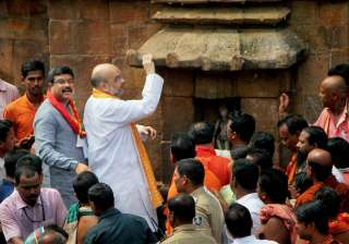 Amit Shah said the dip in GDP growth is not...