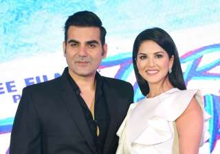 Tera Intezaar poster launch Arbaaz Khan Sunny...