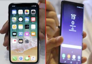 Apple iPhone X vs Samsung Galaxy Note 8 - India TV