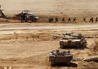 The Israeli army last held a drill of this size...