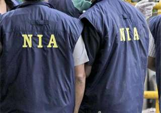 The raids come in a case regitered by the NIA on...