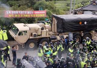 US adds launchers to THAAD as dozens hurt in...