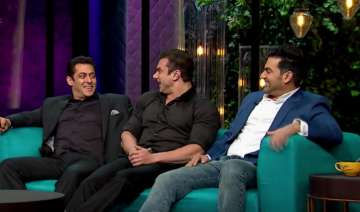 Salman, Sohail, Arbaaz on Koffee with Karan