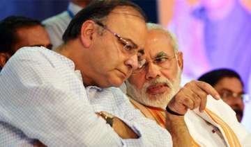 PM Modi with Arun Jaitley