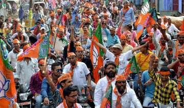 BJP forges ahead in over 300 constituencies -...