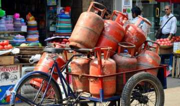 Non-subsidised LPG rates hiked by steep Rs 86 per...