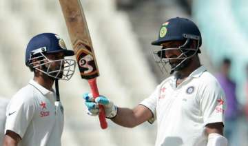 Will be 'gold' if Pujara, Rahane add 100 more...