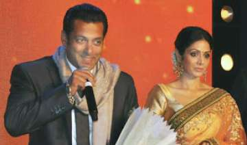 Salman Khan and Sridevi