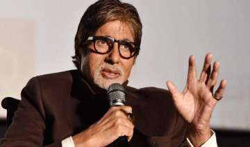 Big B gives book launch a miss due to high fever...