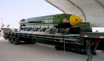 Five facts to know about largest non-nuclear bomb...