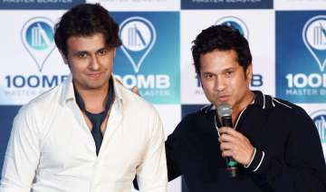 Sachin Tendulkar, Sonu Nigam, Indian Idol 9