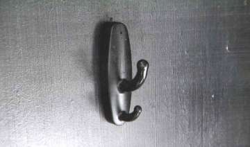 These 'coat hooks' are being used in the changing