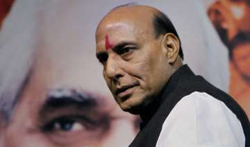 Rajnath Singh - File photo
