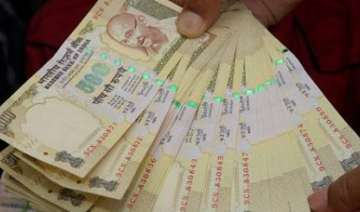 Demonetised Rs 500 notes