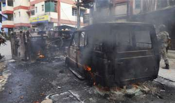 Three dead, officer critical in GJM-Police...