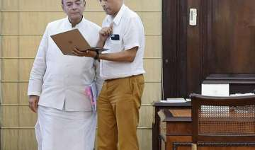 FInance Minister Arun Jaitley with Chief Economic...