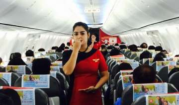 Passengers were seen participating in performing...