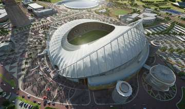Khalifa Stadium in Doha is one of the venues of...