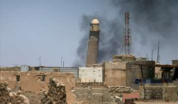 ISIS blows up historic mosque in Mosul where...