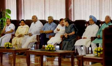 Opposition divided ahead of today's crucial meet,...