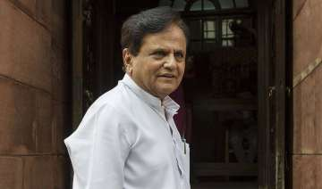 This will be Ahmed Patel's fifth term as a Rajya...