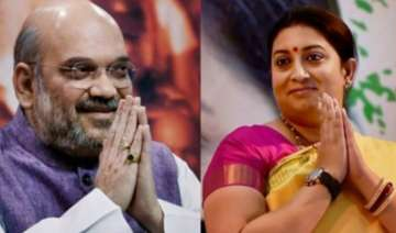 BJP president Amit Shah and Information and...