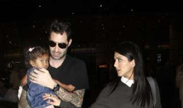 Sunny Leone and husband Daniel Weber clicked with...