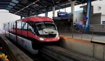 Mumbai monorail services halted after minor...