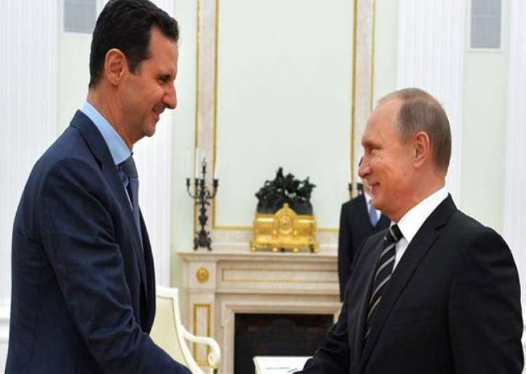 Vladimir Putin congratulates friend Bashar Assad - India Tv