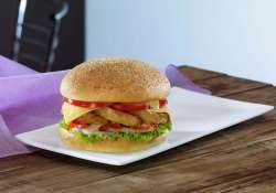 dunkin donuts introduces its range of burgers in india