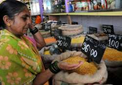 food inflation in double digits at 10.60 pc
