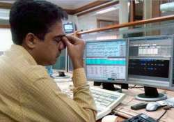 sensex down 383 points banking stocks fall