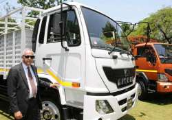 light medium duty trucks rolled out by eicher