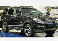 mahindra to launch ssangyong rexton on october 17