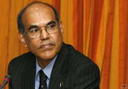 rbi not targeting any exchange rate subbarao