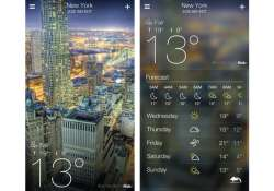yahoo launches ios weather app email apps for ipad android