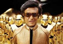 rajinikanth gets ready for make up test for enthiran 2