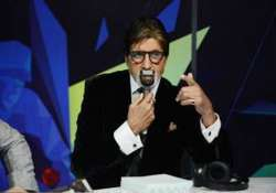 cricket commentary with sports stars an honour for big b